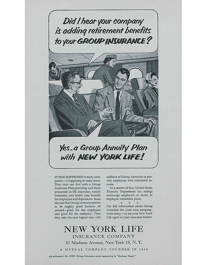 1952 nylannuity launches