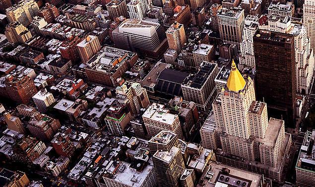 Aerial View Manhattan