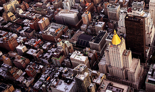 Aerial View Manhattan