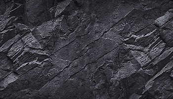 Black stone mountain rock
