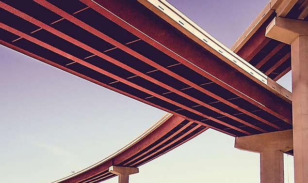 bridge low angle view