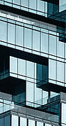 Glass Office Building Banner