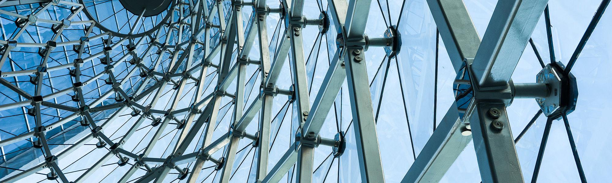 Modern building structure curve