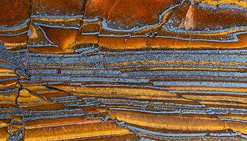 Closeup texture natural mineral jaspilite